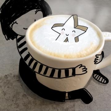 Starbucks artist